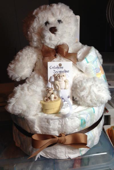 *DIAPER CAKE* Style A
