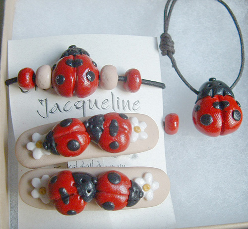 *LADYBUGS* kids jewelry kit