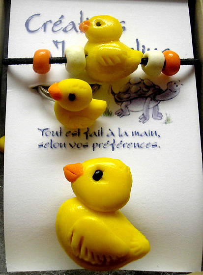 *RUBBER DUCKY* kids jewelry kit