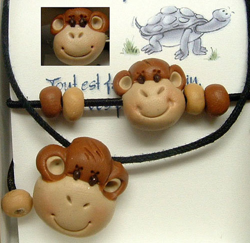 *MONKEYS* kids jewelry kit